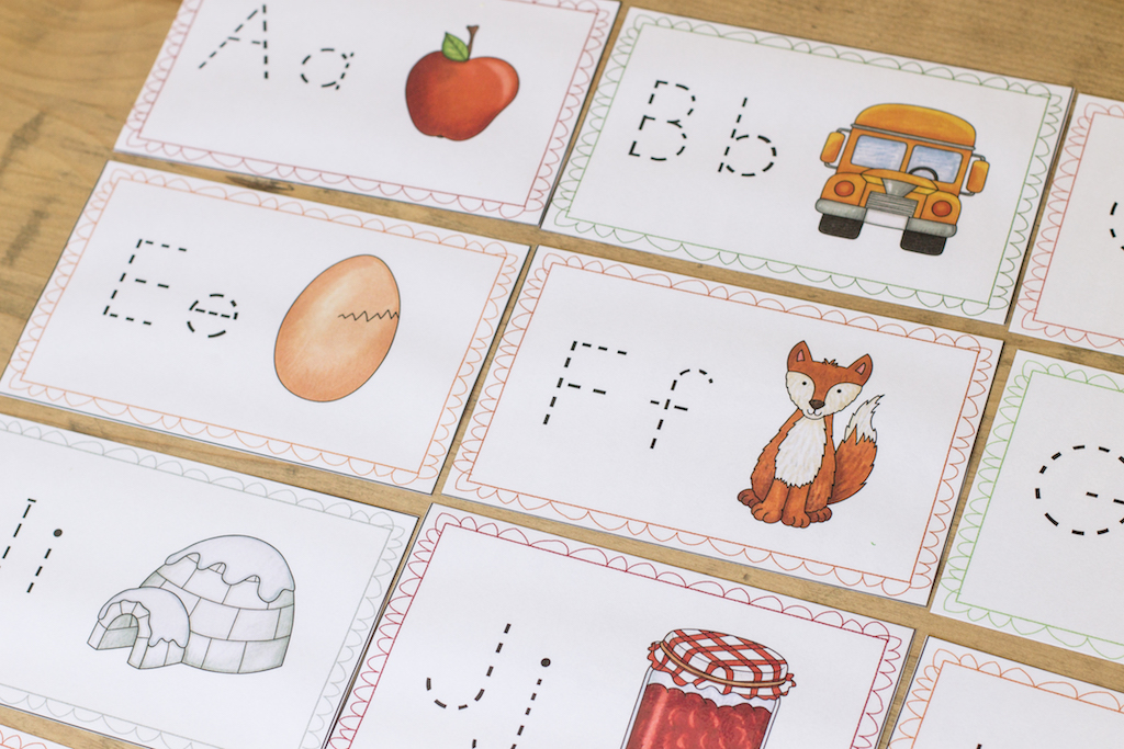 picture regarding Printable Alphabet Cards identify Printable Alphabet Playing cards - Persuade the Mother