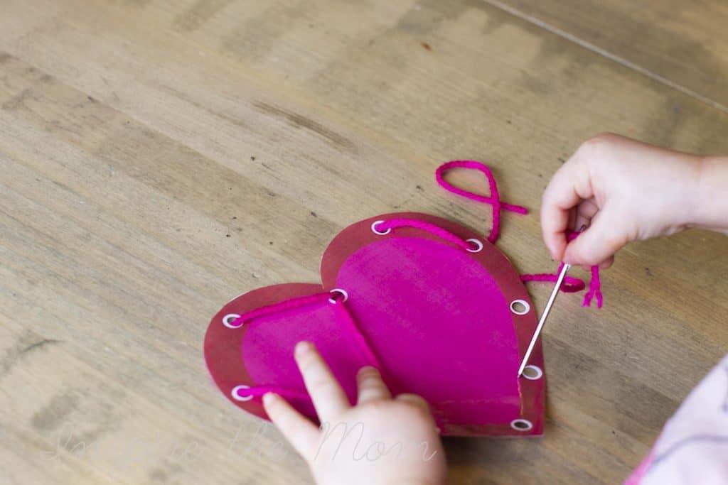 preschool lacing