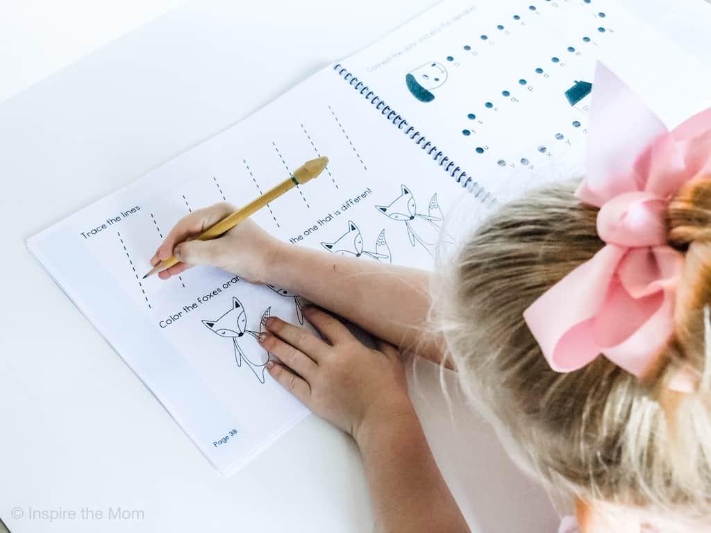 preschool prewriting