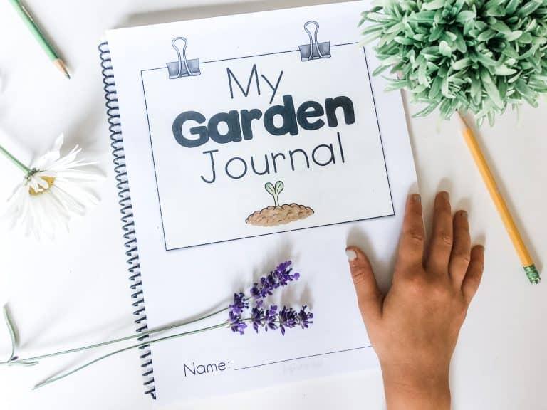inspire the mom's printable garden journal