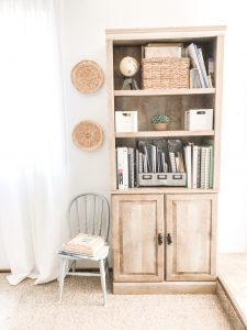 bookshelf for homeschool
