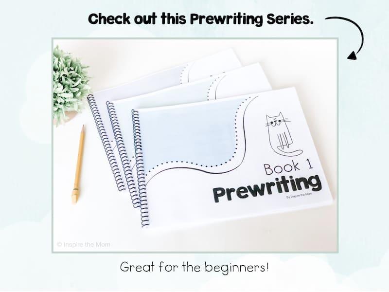 Preschool prewriting series