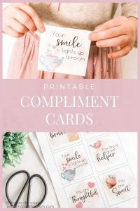 printable compliment cards pin