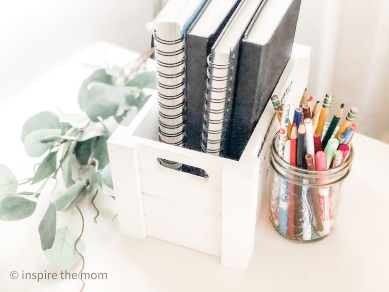 homeschool declutter books