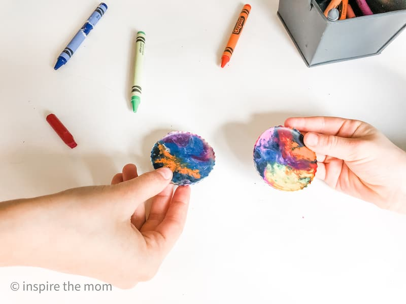 ways to make geology fun for kids crayon experiment