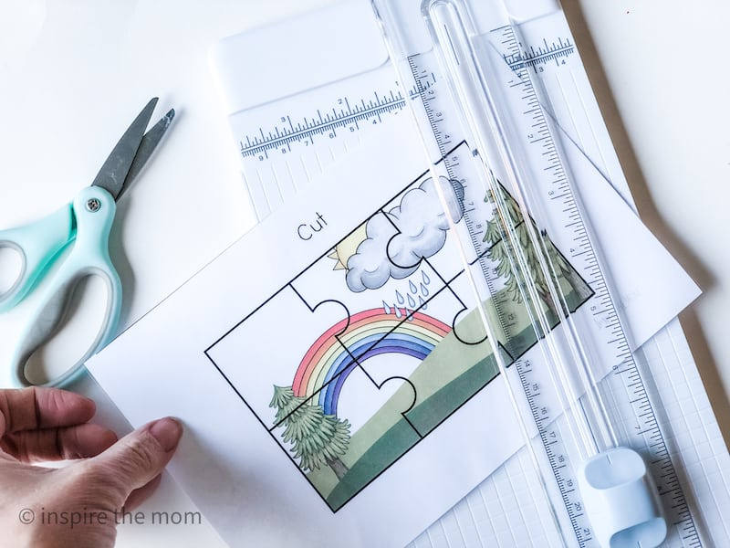 printable weather busy book prep