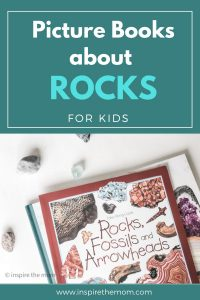 picture books about rocks for kids pin