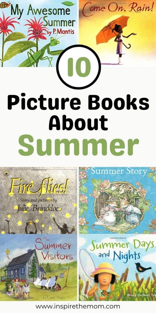 picture books about summer pin