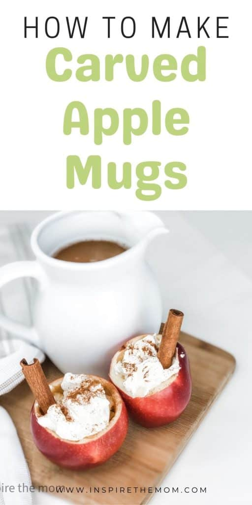how to make carved apple mugs pin